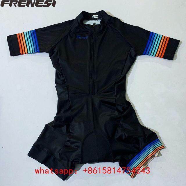 Fresi aero terno triathlon triathlon terno de corrida ao ar livre terno ciclismo skinsuit pro equipe feminino macacão triatlon hombre kit 2
