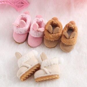 Ob11 обувь bjd сапоги зимние сапоги Детская одежда подходит для 1/12 bjd, obitsu 11, holala, голова для девочки, мини салон, аксессуары для куклы