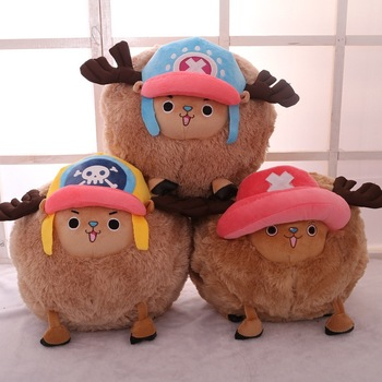 35cm Chopper One Piece Plush Toys Anime One Piece Chopper Plush Toys Anime Plushie Dolls Winter Gifts for Girl 55cm cartoon one piece plush toys chopper plush doll stuffed anime cute toy chopper doll best gift for children