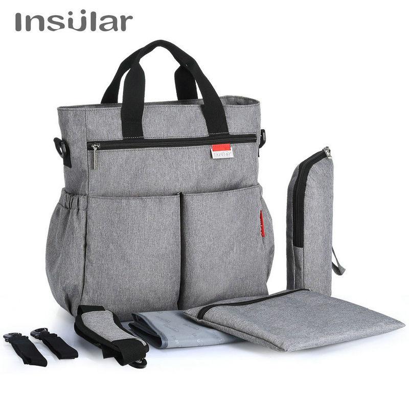 Insular Mummy Diaper Bag Large Nursing Bag Travel Backpack Designer Stroller Baby Bag Baby Care Nappy Innrech Market.com