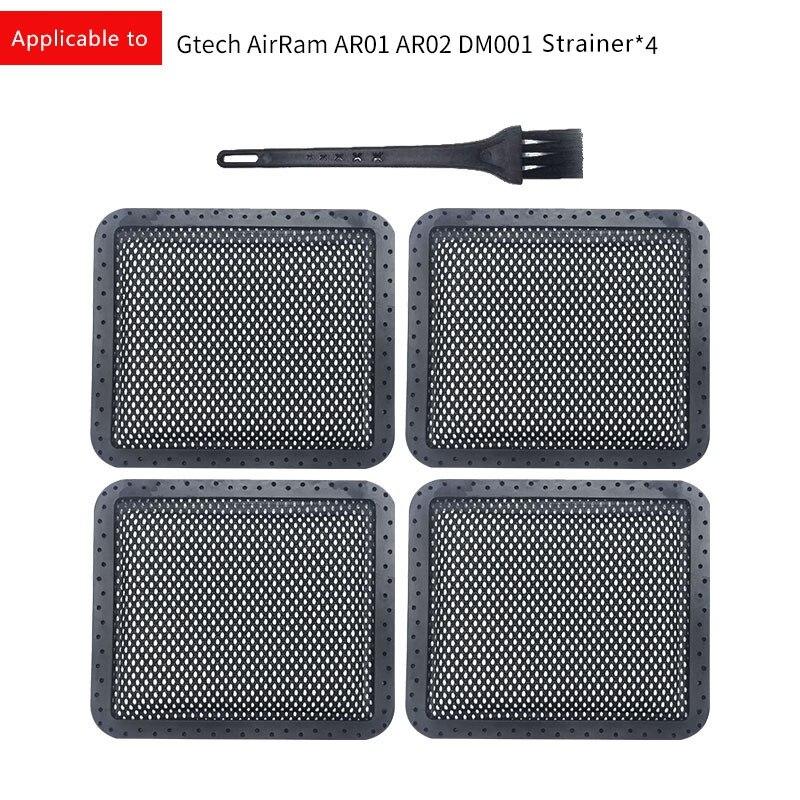 FITS GTECH AR01 AR02 DM001 AIRRAM WASHABLE PADDED FILTERS x 2