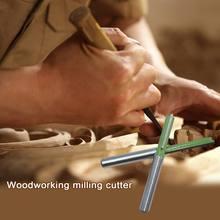 7 шт/компл хвостовик ласточкин хвост шарнирные фрезы Набор деревообрабатывающий