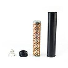 """Filtre à carburant Turbo, en aluminium, billette, pour Napa 4003, WIX 24003, filtre à carburant, 1/2 """" 28 et 1/2"""" 20, FF 03 BK"""