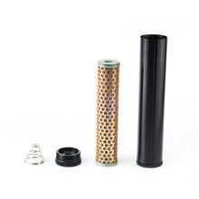 Filtro de combustible de aluminio, filtro de aire Turbo para Napa 4003 WIX 24003, filtro de combustible de 1/2