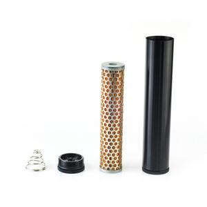 """Image 1 - NEW Billet filtro del carburante In Alluminio Turbo Filtro Aria PER Napa 4003 WIX 24003 Filtro Del Carburante 1/2 """" 28 & 1/2"""" 20 FF 03 BK"""
