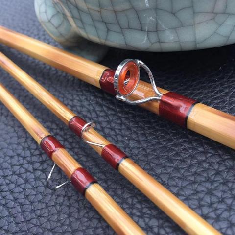 zhusrods chama classica artesanal vara de mosca bambu 76 6 5wt