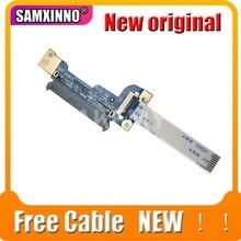 Akemy HP 15 DA 15 DB HDD 하드 드라이브 커넥터 케이블 보드 용 새 원본 LS G072P 435OM932L01 8 핀 100% 테스트 된 무료 케이블