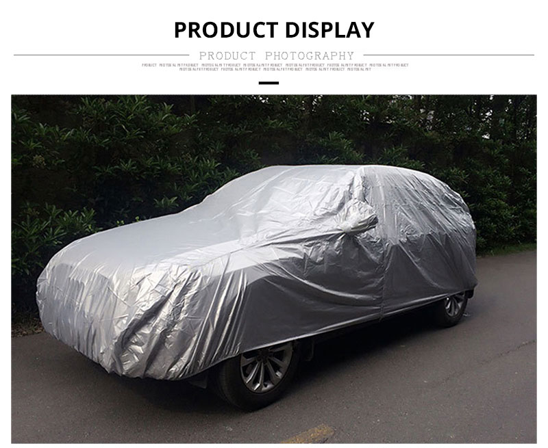 Car Cover Sedan SUV Tent Covers Sun Reflective Shade Rain Frost Snow Dust Waterproof Protection Anti UV Outdoor Car Accessories (7)