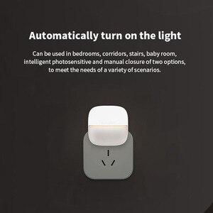 Image 2 - Yeelight YLYD09YL carré lumière contrôlée capteur intelligent veilleuse Ultra faible consommation dénergie pour xiaomi mijia MI maison