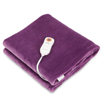 Plush Electric Heating Blanket Waterproof Washing Electric Heated Blanket 9 Gear Timing Manta Electrica Warm up Blanket Carpets Electric Heaters Home Appliances -