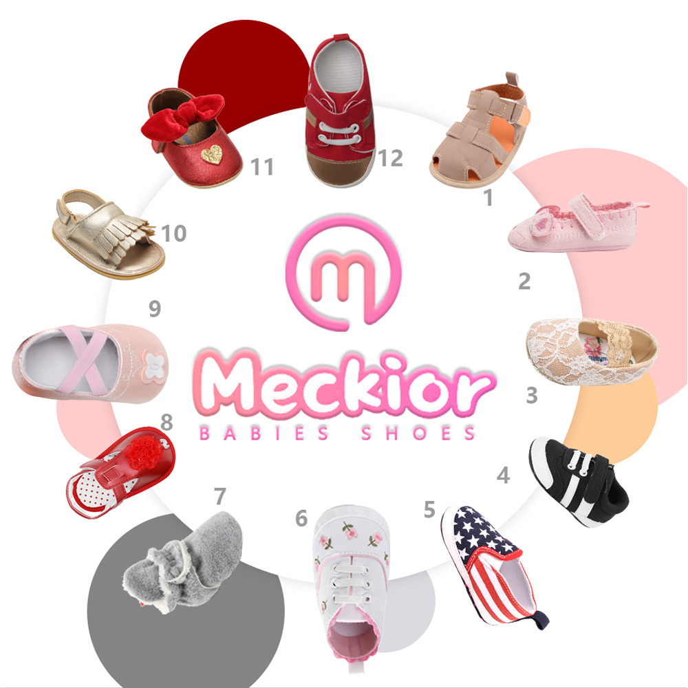 Newborn Baby Socks Shoes Boy Girl Star Toddler First Walkers Booties Cotton Comfort Soft Anti-slip Warm Infant Crib Shoes 6
