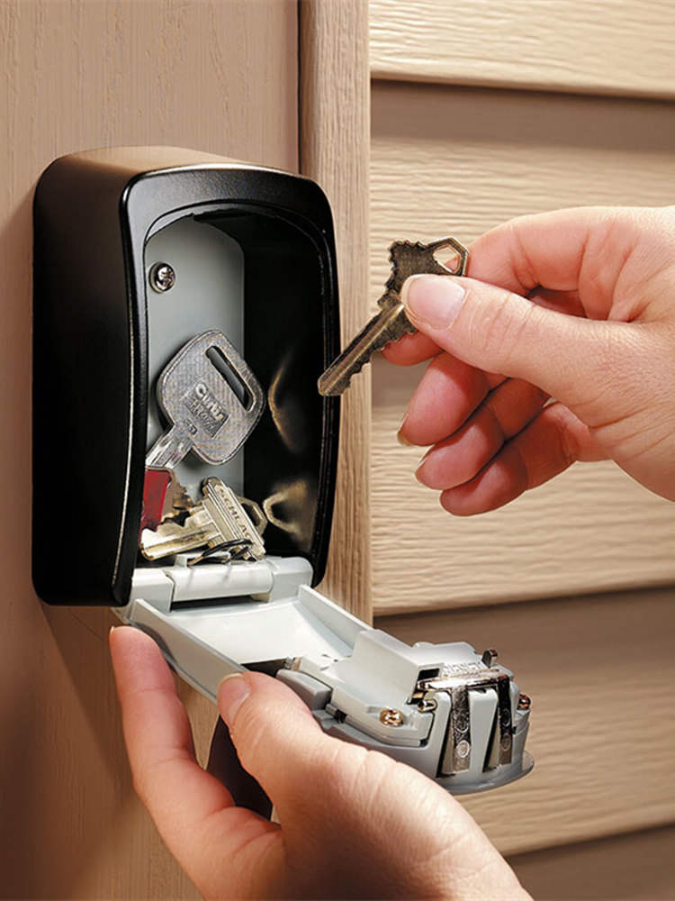 Organizer Key-Storage Safe-Box Code-Lock Wall-Mount Fuerte 4-Digit-Combination Home-Key