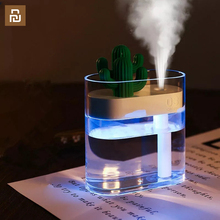 Clear Cactus Ultrasonic Air Humidifier 160ML Color Light USB Air Purifier Anion Mist Maker Water Atomizer
