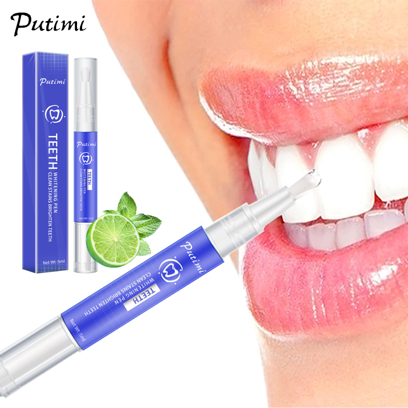 Teeth Whitning Essence Gel Tooth Cleaning Bleaching Tool Effective Remove Plaque Stains Dental Teeth Whitening Pen Oral Care
