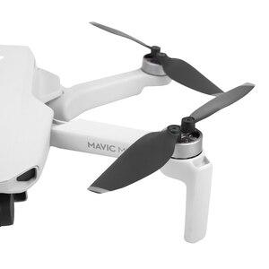 Image 4 - SUNNYLIFE 4 Pairs Faltbare Propeller 4726F Geräuscharm Propeller für DJI Mavic Mini Drone Zubehör