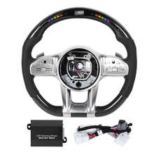 Display Steering-Wheel Race Performance Mercedes-Benz-Modified-Accessory LED AMG Nappa
