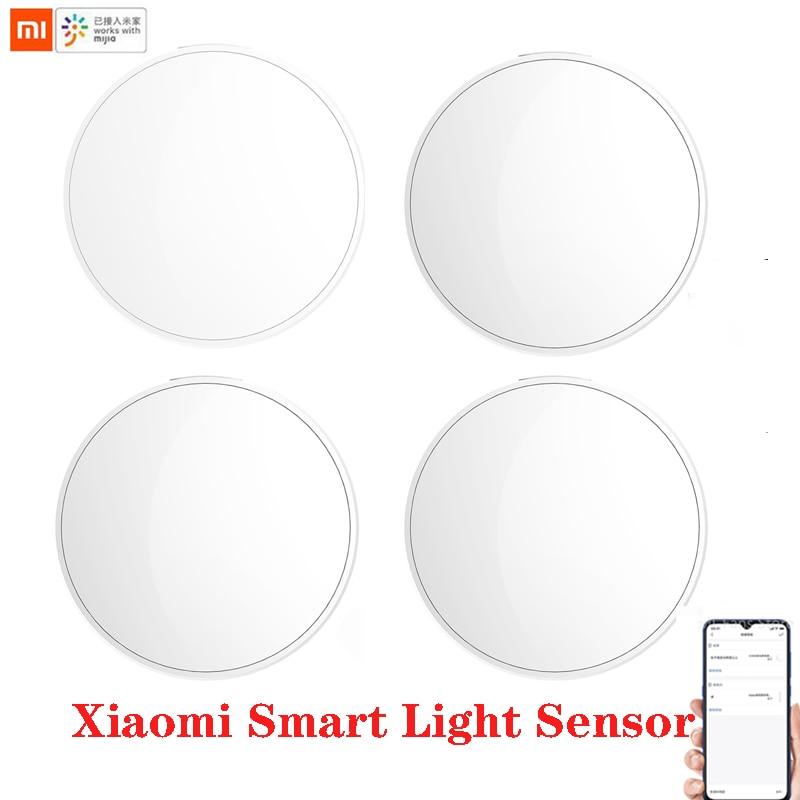 Умный датчик света Xiaomi mijia Zigbee Обнаружение света Интеллектуальная связь водонепроницаемый используется с умным мульти-режимным шлюзом