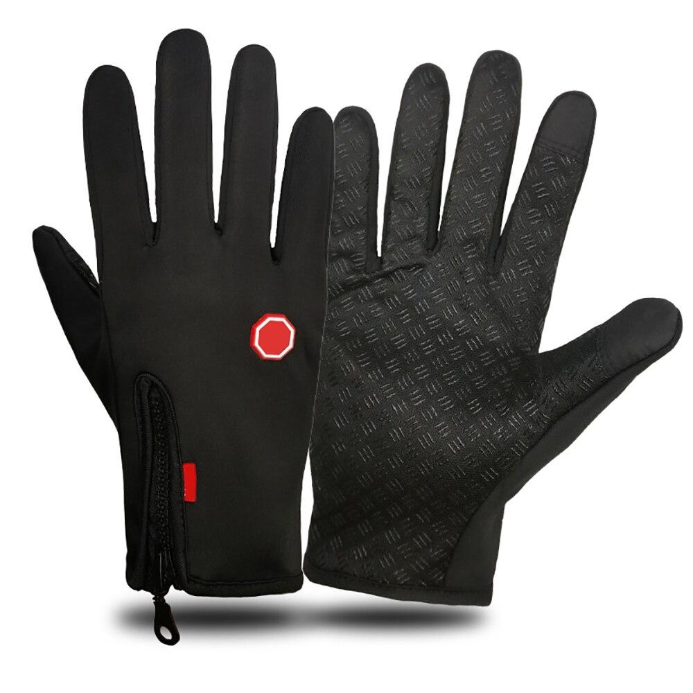Зимние уличные перчатки, лыжные перчатки, походные перчатки, водонепроницаемые, с сенсорным экраном, для верховой езды, спорта, катания на