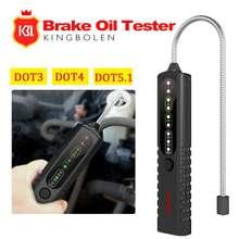 Stylo testeur de liquide d'huile de frein de voiture, outil de test d'huile de frein, détecteur universel, OBD2, outil de Diagnostic pour DOT3/DOT4/DOT5.1