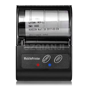 Image 2 - POS 58MM Bluetooth Thermische Empfang Drucker Tragbare Mobile Wireless Empfang Maschine für Windows Android iOS Telefon 80 mm/s geschwindigkeit