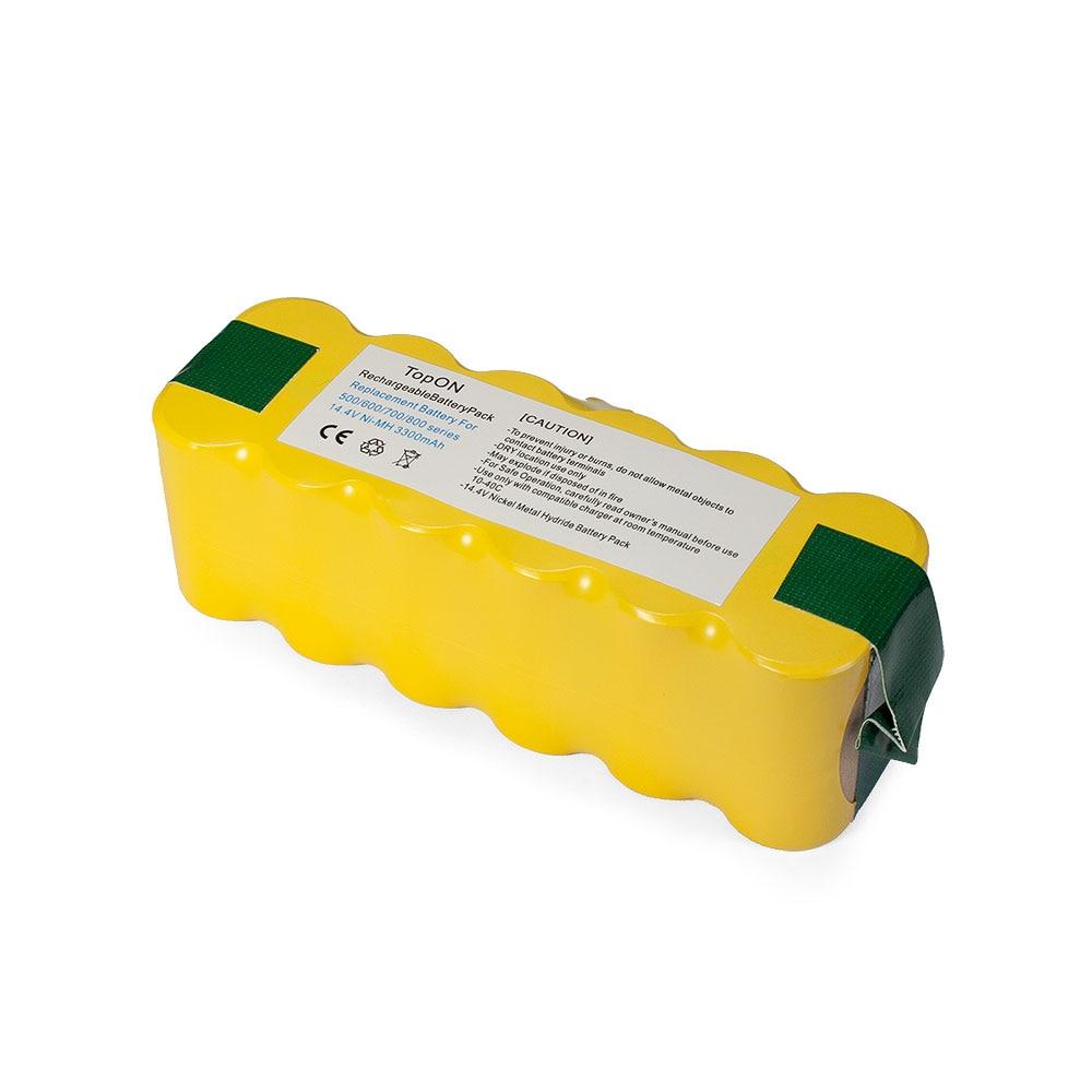 Аккумуляторная батарея для iRobot Roomba 886 (3300mAh, 14.4V, Ni-Mh)