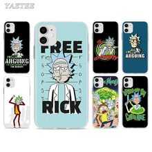 Rick And Morty Phone Case for iPhone 11 Pro 7 8 SE 2020 X XR XS MAX 6 6s Plus 5 5s 7+ 8+ TPU Soft Cover 3d cigarette phone case for iphone 7 creativity soft silicon tpu cover for apple iphone 6s 6 x 8 plus 5 se 5s case 7 plus 6 plus