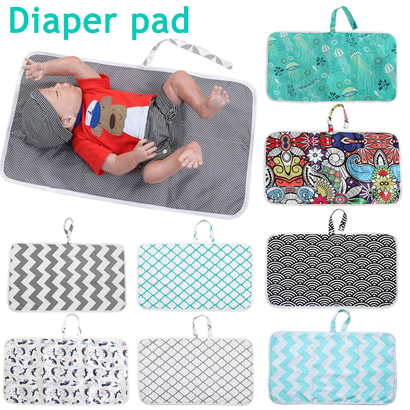 Newborn Nappy Diaper Play Changing Mat Portable Foldable Washable For Travel Hot Sales