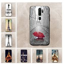 France Paris the Eiffel Tower Newly Arrived Black Cell Phone Case for oppo a59 a73 a71 ax5s a73s Realme 3 2pro 5 case(China)