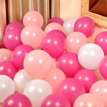 50 шт. шары для дня рождения украшения латексные шары 10 см украшения для дня рождения Дети День благодарения