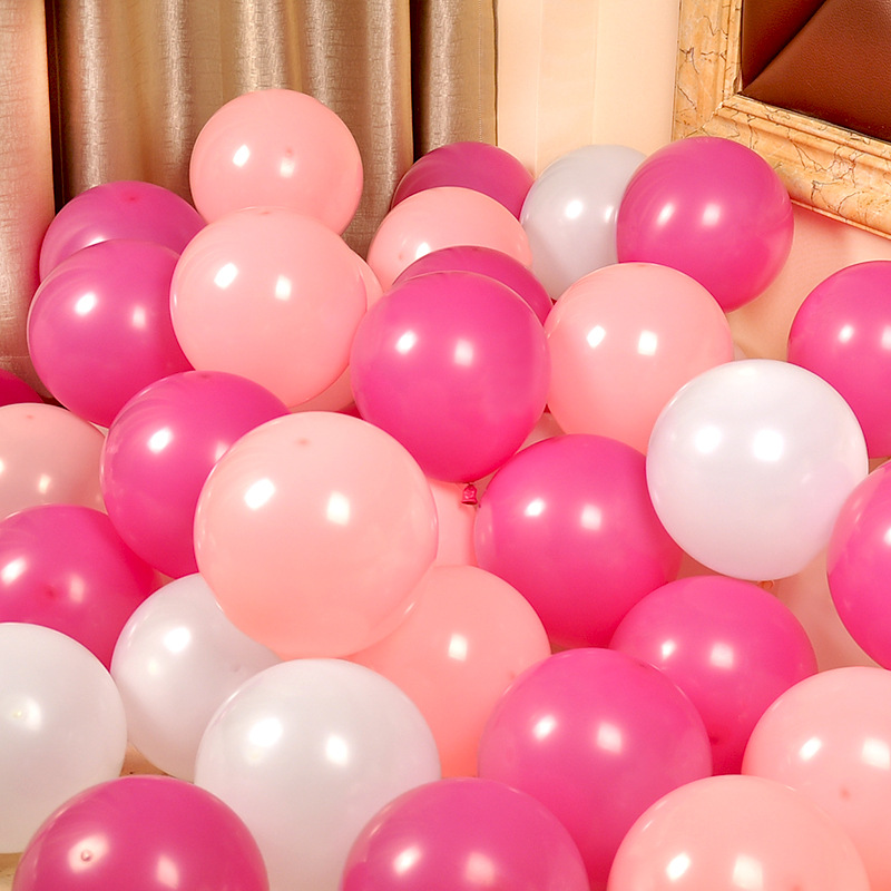 50PCS Birthday Party Balloons Decorations  Latex Balloon 10cm Birthday Party Decorations Kids Thanksgiving