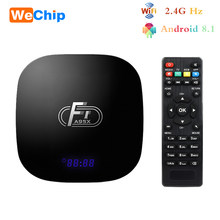 Wechip A95XF1 Amlogic S905W IPTV Android 8.1 Smart TV Box 1080P HD Support 4K 2.4G Wifi 100M LAN H.265 4K HD Set Top Box(China)