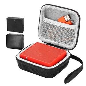 Image 3 - محمولة EVA سحاب غطاء واقٍ مزخرف لهاتف آيفون حقيبة التخزين صندوق للذهاب 2 سمّاعات بلوتوث