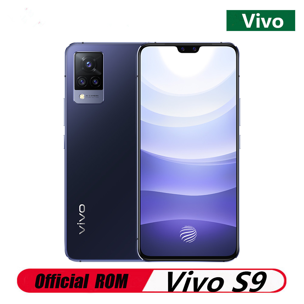 """Szybka dostawa DHL Vivo S9 5G telefon komórkowy 6.44 """"Amoled 90HZ 12GB RAM 256GB ROM 64,0mp 33W Super ładowarka linii papilarnych MTK 1100"""
