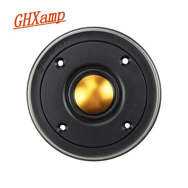 Ghxamp 3 inch Tweeter Speaker Hifi Gold Dome Treble Loudspeaker 82mm Speaker Unit for Monitor BX2 TBX025 Good Quality 1PC