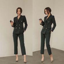 Женский комплект 2 шт в полоску Корейском стиле спортивный костюм