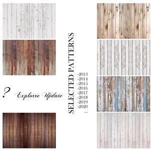 Image 1 - Planches de planche de bois Texture Portrait Grunge arrière plans de photographie personnalisés décors de photographie pour décors de Studio Photo