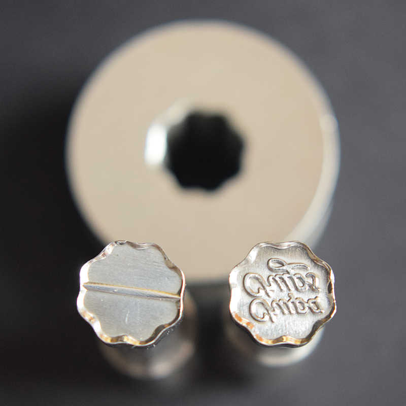 3D FLOR Die 3D Pílula Imprensa Molde Do Doce de Perfuração Morrer Logotipo Personalizado de Cálcio Tablet Soco Morrer