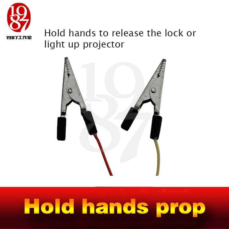 Image 4 - Escaperoom game props hold Hand Tools  live hand to touch the switch body bridge props Room Escape Chamber props Adventure props-in Alarm System Kits from Security & Protection