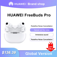 Original Global Version Huawei FreeBuds Pro Earphone TWS In-ear Wireless Headset Earbuds Active Noise Cancellation Earphones