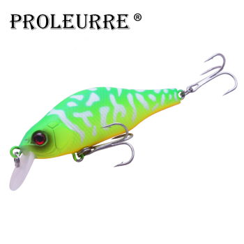 цена на Proleurre Floating Minnow Fishing Lure 80mm 9g Isca Crankbait Artificial Hard Bait Wobbler for Pike Bass Pesca Fishing Tackle