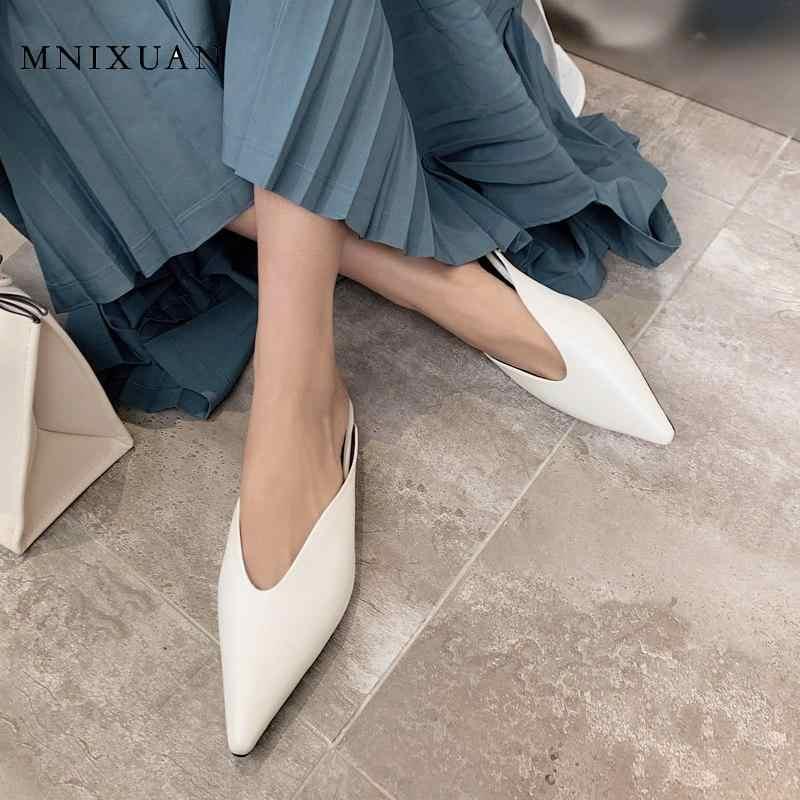 Casual women flat shoes ladies mules