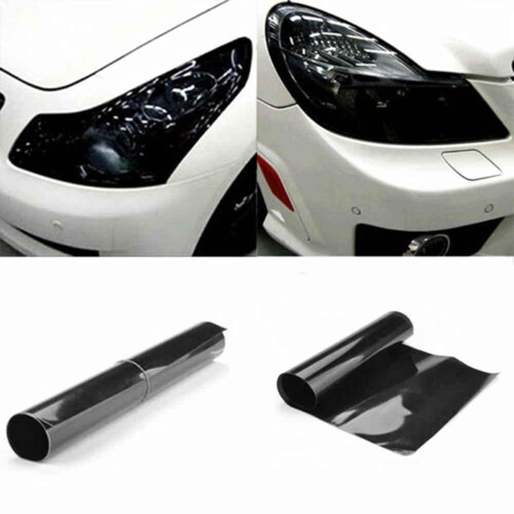 40*152 см матовый светильник, пленка для автомобиля, матовый черный оттенок, головной светильник задняя фара туман светильник, виниловая пленка, задний фонарь, Тонирующая пленка для автомобилей