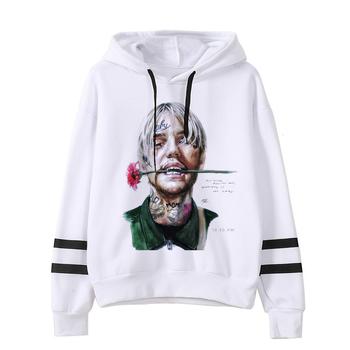 90S Lil Peep bluzy piekło chłopiec Lil peep mężczyźni kobiety bluza z kapturem mężczyzna kobieta Sudaderas Cry dziecko kaptur Hoddie bluzy Hip hopowe tanie i dobre opinie ojuiyuhu CN (pochodzenie) Pełna Charakter REGULAR Brak STANDARD Modalne NONE