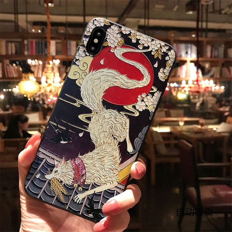 Animal 3D Relief Cover Funda For Samsung Galaxy S7 Edge S8 S9 S10 S10E A40 A50 A70 Note 8 9 10 J4 J6 Plus A6 A7 A8 2018 TPU Case