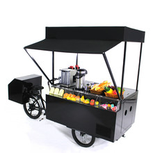 Europe Mobile Electric Cargo Bike Food Bike for Sell Coffee Hot Dogs Ice Cream Flowers Fruit
