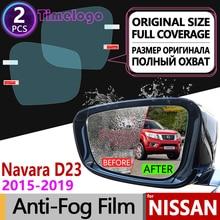 For Nissan Navara NP300 D23 2015~2020 Full Cover Anti Fog Film Rearview Mirror Anti-Fog Films Accessories 2016 2017 2018 2019 цена в Москве и Питере