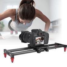 """42 см ползунок для камеры из углеродного волокна, стабилизатор для видеокамеры DSLR, рельсовый рельс для съемок, фото, с отверстиями для крепления винта 1/4"""""""