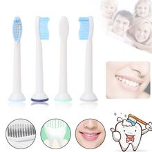 4Pcs/pack Electric Toothbrush Heads Replacement Fits for Philips Sonicare P-HX-6054/HX6054 Soft Bristles Oral Tooth Brush