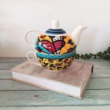 christmas wedding decorati Turkish black teapot mother cup dishpot folding pot coffee flower cold water juice