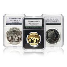 Coin-Storage-Box PCCB Commemorative White Collection-Box Second-Generation 40mm 1pc